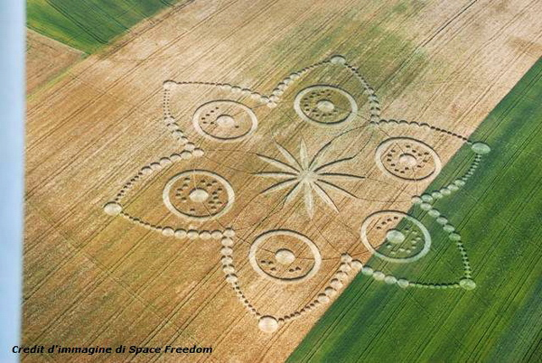Crop Circles: A Not-So-Convincing Case | Skeptical Inquirer |Chilbolton Crop Circle Explanation